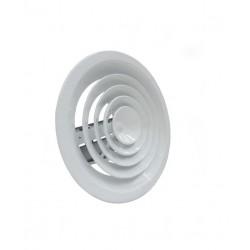 Anemostat nawiewny aluminiowy biały
