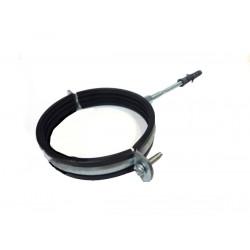Obejma uchwyt montażowy metal-guma do rury
