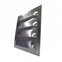 Kratka aluminiowa  wentylacyjna płaska 17x18