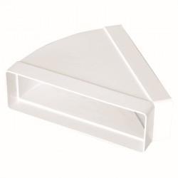 KOLANO  poziome PVC 220x90  45°