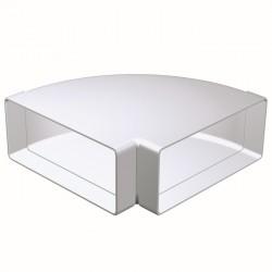 KOLANO  poziome PVC 220x90  90°