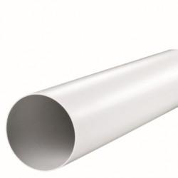 Kanał okrągły plastik PVC ABS 125 mm 0,5 m