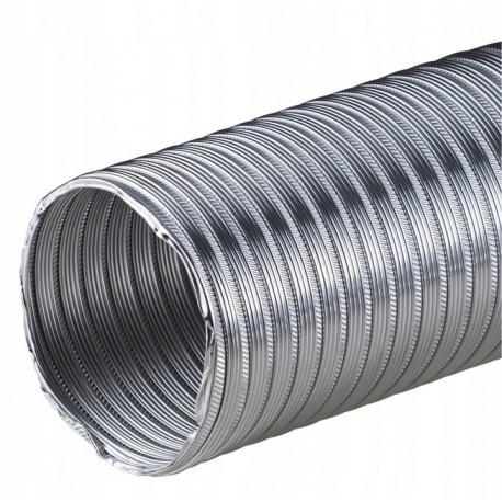 Rura aluminiowa elastyczna FLEX o średnicy fi 80-150 i o długości 1m