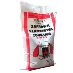 Zaprawa szamotowa zduńska 5kg  PARKANEX
