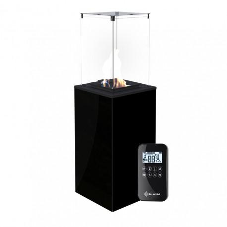 Ogrzewacz gazowy wolnostojący PATIO szkło/czarny
