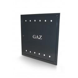 Drzwiczki gazowe 60x60 cm z kluczem GAZ kolory