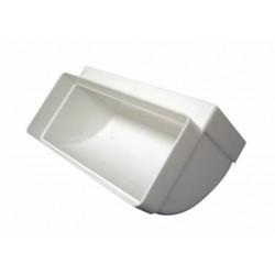 KOLANO Poziome 90°  PVC 204x60