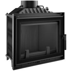 Wkład kominkowy 10 kW ANTEK GLASS z dolotem