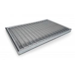 Wycieraczka metalowa 3 cm
