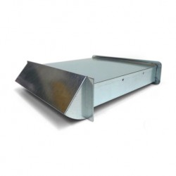 Nawietrzak wentylacyjny prostokątny z chromoniklu NP1-CH/CH