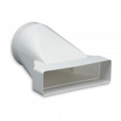 Łącznik przekroju PVC 120x60 fi 100 mm