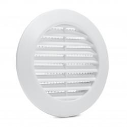 Kratka wentylacyjna biała fi 60 mm
