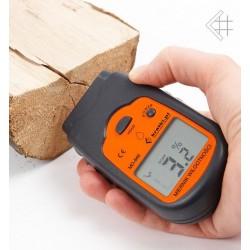 Miernik wilgotności drewna wilgotnościomierz +etui