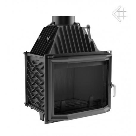 Wkład kominkowy 16 kW ZUZIA 16 pryzmatyczny